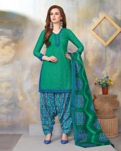 Rajwadi Patiyala Vol 5 By Balaji Printed Cotton Dress Material.