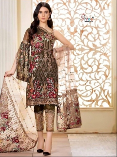 Ramsha embroidered vol 2shree fabs