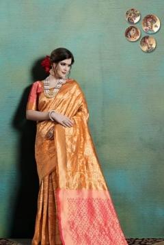 Ranya By Ynf Wedding Wear Kanjivaram Art Silk Sarees Collection.