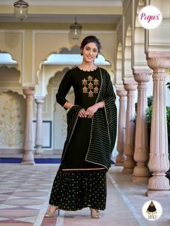 Pogws presents  Poshak  vol 1 Designer Readymade Salwar Collection