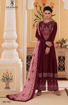 Sajawat Present Sarthi vol 9 Festival Wear Salwar Kameez catalogue
