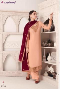 Aashirwad  presents Maria  Heavy Salwar Suits