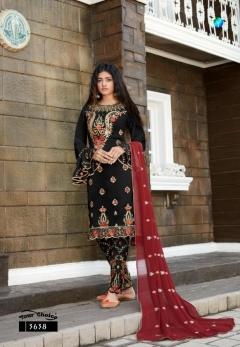 Y.C presents Meenaz  Designer Salwar Suits Collection