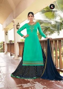 Kalarang  presents Blueberry  vol 3  Designer Salwar Suits Collection