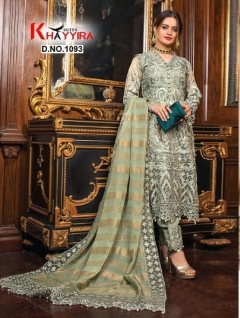 Khayyira presents Alzohaib vol 1 Pakistani Salwar Suits Collection