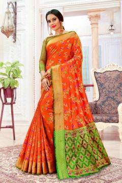 Sangam presents  Purva Heavy Banarasi Silk Saree Collection