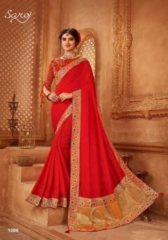 Saroj presents  Abhilasha Festive Wear Sarees Collection