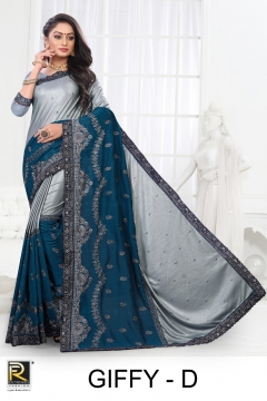 Ranjna presents Giffy Casual Wear  Saree Collection