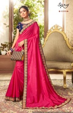 Saroj By Charulata Festive Wear Saree Collection