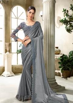Saroj present new collection of Aarzoo  Festive Wear Chiffon Saree catalogue
