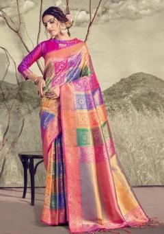 Satrangi Silk By Ynf Banarasi Art Silk Sarees Collection