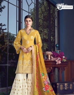 Sezane 8001 By Swagat Wedding Wear Salwar Suit Collection