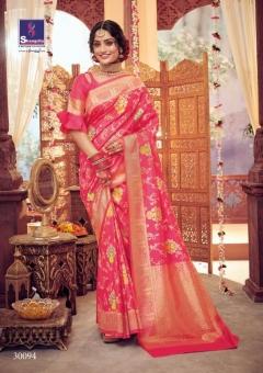 Shangrila By Shamiyana  Wedding Wear Saree collection