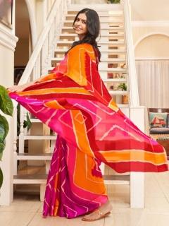 Shibori By Shangrila Running Wear Kota Silk Sarees Catalogue