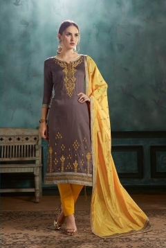 Silk Shine By Kessi Designer Jam Satin Dress Material Collection
