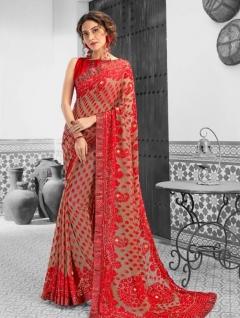 Suhane Pal By Saroj Designer Wedding Wear Sarees Catalogue.