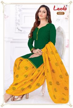 Laado Priti Patiyala vol 6 Unstitched Cotton Dress Material Latest Price