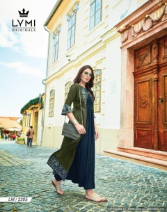 Urban By Lymi Festival Wear Rayon Kurtis Collection