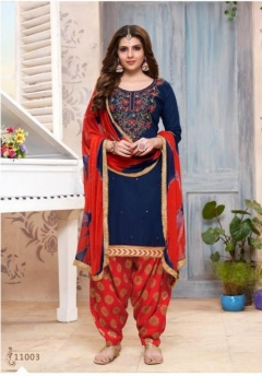Utsav | Mahek Vol 11 |  Cotton Punjabi Dress Material Catalogue