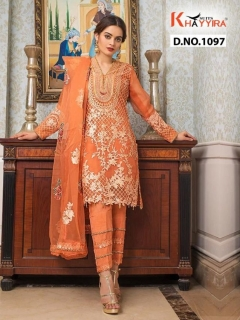 Khayyira presents Alzohaib vol 2 Pakistani Salwar Suits Collection